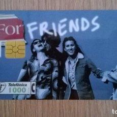 Tarjetas telefónicas de colección: TARJETA TELEFONICA FORTUNA FRIENDS. Lote 206571323