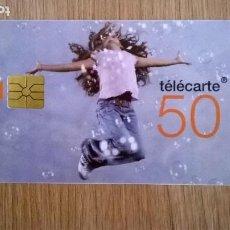 Tarjetas telefónicas de colección: TARJETA TELEFONICA TELECARTE 50 FRANCIA. Lote 206572173
