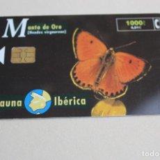 Tarjetas telefónicas de colección: TARJETA MARIPOSA LICENIDO. Lote 207112668