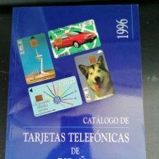 Tarjetas telefónicas de colección: CATALOGO TRAJETAS TELEFÓNICAS 1996. Lote 211638744