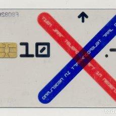 Tarjetas telefónicas de colección: TARJETA TELEFONICA TRANSPARENTE DE HOLANDA. Lote 212272412