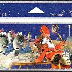 Tarjetas telefónicas de colección: TARJETA TELEFONICA USADA DE BELGICA AÑO 1.994. Lote 212855457