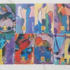 Tarjetas telefónicas de colección: 12 TARJETAS TELEFONICAS DEL HOROSCOPO DE MEJICO. Lote 28935091