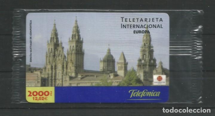 """TARJETA TELEFÓNICA.""""LLAMADAS INTERNACIONALES, EUROPA"""" NUEVA CON PRECINTO. FACIAL 12,02 EUROS (Coleccionismo - Tarjetas Telefónicas)"""