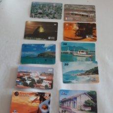 Tarjetas telefónicas de colección: BRASIL TARJETA TELEFÓNICA TELEMAR. Lote 213453940