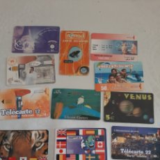 Tarjetas telefónicas de colección: TARJETA TELEFÓNICA 10 UNIDADES. Lote 213470880