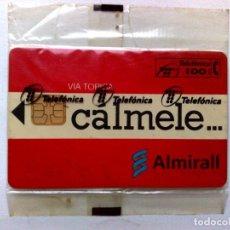Tarjetas telefónicas de colección: TARJETA TELEFONICA:P-097:LAB.ALMIRALL (100 PTA.) CÁLMALE...,NUEVA CON BLISTER (10/94). Lote 217593090