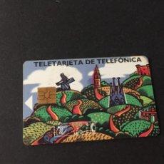 Tarjetas telefónicas de colección: BONITA TARJETA TELEFONICA DE ESPAÑA USADA LA DE LAS FOTOS VER TODAS MIS TARJETAS NUVAS Y USADAS. Lote 217688381