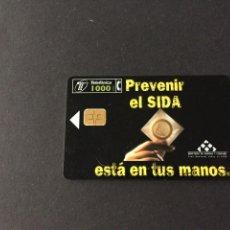 Tarjetas telefónicas de colección: BONITA TARJETA TELEFONICA DE ESPAÑA USADA LA DE LAS FOTOS VER TODAS MIS TARJETAS NUVAS Y USADAS. Lote 217696163