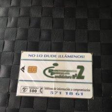 Tarjetas telefónicas de colección: TARJETA TELEFONO DE ESPAÑA NUEVA CON PRECINTO-LA DE LAS FOTOS VER TODAS MIS TARJETAS NUEVAS Y USADAS. Lote 218579601