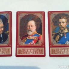 Tarjetas telefónicas de colección: BRITISH EMPIRE -LOTE DE 3 (GRAN BRETAÑA. Lote 219846310