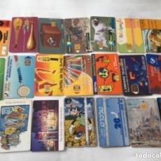 Tarjetas telefónicas de colección: 50 TARJETAS TELEFONICAS VARIADAS. Lote 219847115