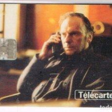 Tarjetas telefónicas de colección: JEAN LOUIS TRINTIGNANT EN TRES COLORES: ROJO, SERIE TELEFONO Y CINE Nº 7. Lote 220971441