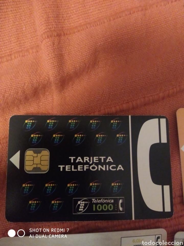 Tarjetas telefónicas de colección: 8 tarjetas telefonica según fotos. - Foto 2 - 221518663
