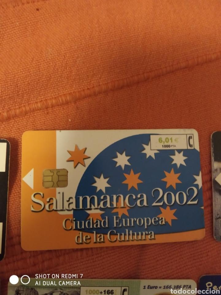Tarjetas telefónicas de colección: 8 tarjetas telefonica según fotos. - Foto 3 - 221518663