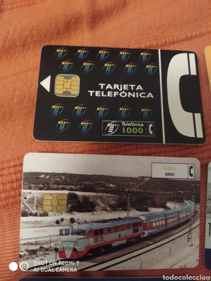 Tarjetas telefónicas de colección: 8 tarjetas telefonica según fotos. - Foto 5 - 221518663