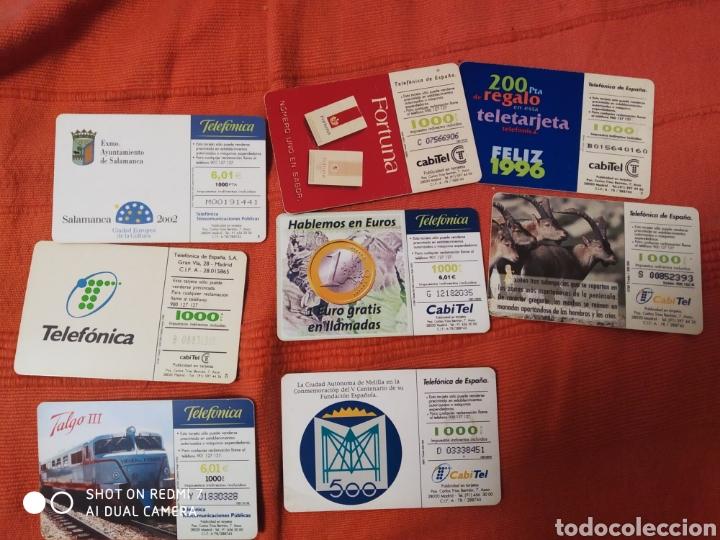 Tarjetas telefónicas de colección: 8 tarjetas telefonica según fotos. - Foto 10 - 221518663
