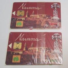 Tarjetas telefónicas de colección: TARJETAS TELEFONICAS DE ESPAÑA NUEVAS CON SU PRECINTADO ORIGINAL. Lote 222027371