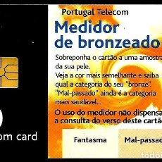 Tarjetas telefónicas de colección: TARJETA TELEFONICA (PORTUGAL) PT232A (VERANO'99) (50 U) (CHIP:GEM1A) (600.000) (1999-05) USADA0. Lote 222265883