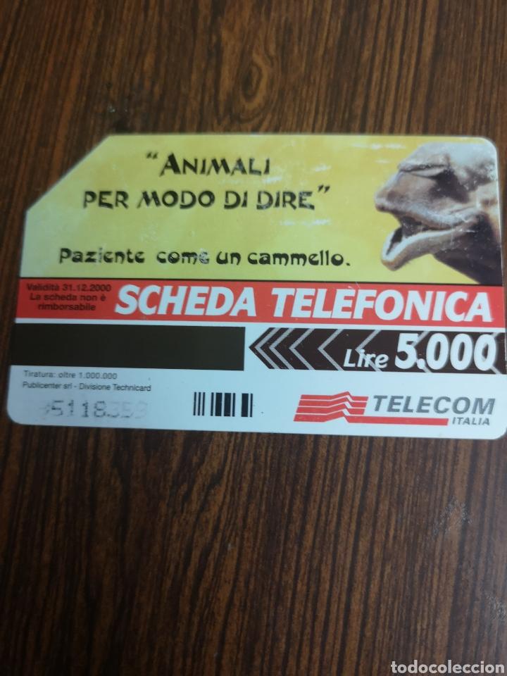 Tarjetas telefónicas de colección: TAS80. TARJETA TELEFÓNICA. TELECOM - Foto 2 - 222480860