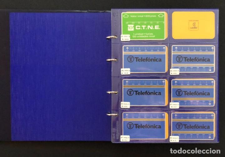 IMPORTANTE Y VALIOSA COLECCION DE TARJETAS TELEFONICAS DE ALTA COLECCION VER FOTOS (Coleccionismo - Tarjetas Telefónicas)