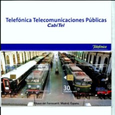 Tarjetas telefónicas de colección: TARJETA TELEFONICA (PORTUGAL) PT239 FOLDER (IBEREX'99) (3€-30 U)(CHIPS:GEM5 - GEM1A (6.000)(1999-09). Lote 222606015