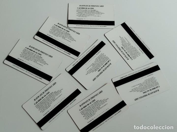 Tarjetas telefónicas de colección: COLECCION LOTE DE TARJETAS TELEFONICAS BAYWATCH - Foto 2 - 222609658