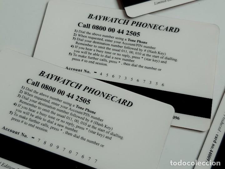 Tarjetas telefónicas de colección: COLECCION LOTE DE TARJETAS TELEFONICAS BAYWATCH - Foto 3 - 222609658