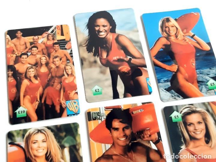 Tarjetas telefónicas de colección: COLECCION LOTE DE TARJETAS TELEFONICAS BAYWATCH - Foto 4 - 222609658