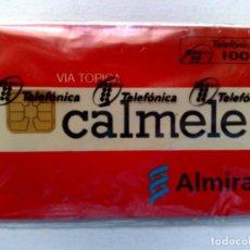 Tarjetas telefónicas de colección: TARJETA TELEFÓNICA;P-097:LAB.ALMIRALL (100 PTA.) CALMELE...,CON PRECINTO.(10/94). Lote 226221641