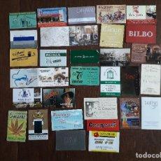 Tarjetas telefónicas de colección: LOTE DE 30 TARJETAS DE VISITA DE BARES, HOTELES, RESTAURANTES. Lote 230777915