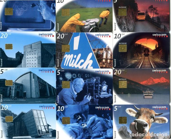 Tarjetas telefónicas de colección: COLECCION DE 31 TARJETAS TELEFONICAS USADAS DE SUIZA TODAS DIFERENTES (VER FOTOS) - Foto 2 - 235032305