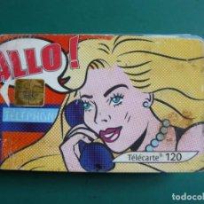 Tarjetas telefónicas de colección: TARJETA DE TELÉFONO LA DE LA FOTO. Lote 235465830