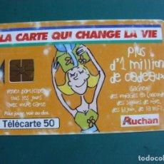 Tarjetas telefónicas de colección: TARJETA DE TELÉFONO LA DE LA FOTO. Lote 235466035