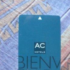 Tarjetas telefónicas de colección: TARJETA- LLAVE DE HOTELES AC. Lote 235466300