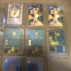 Cartões de telefone de coleção: SEVILLA FIESTAS DE PRIMAVERA .LOTE DE 8 , NUEVAS PRECINTADAS . TARJETAS TELEFONICA. Lote 235543070