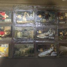 Cartões de telefone de coleção: MUSEO DEL PRADO , GOYA VELAZQUEZ GRECO , LOTE DE 12 NUEVAS -PRECINTADAS TARJETAS TELEFONICA. Lote 235560360