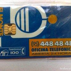 Tarjetas telefónicas de colección: TARJETA TELEFONICA:P-106: EL MONTE-II (100 PTA.) 12/94. Lote 235877155