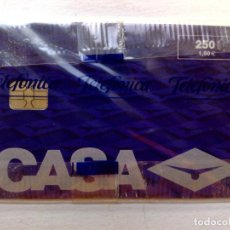 Tarjetas telefónicas de colección: TARJETA TELEFONICA:P-388: CASA-II (250 PTA.) TIRADA 7.000 EJEMPLARES.,PRECINTADA (06/99). Lote 235882055