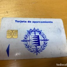 Tarjetas telefónicas de colección: TARJETA DE APARCAMIENTO. AYUNTAMIENTO DE VALLADOLID DORNIER.. Lote 238647715