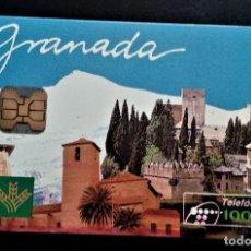 Carte telefoniche di collezione: TARJETA TELEFÓNICA 1000 PTAS GRANADA ALAHAMBRA SIERRA NEVADA CAJA RURAL GRANADA. Lote 238804450