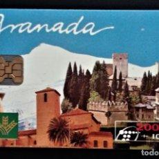 Carte telefoniche di collezione: TARJETA TELEFÓNICA 2000 + 100 PTAS ALAHAMBRA SIERRA NEVADA CAJA RURAL GRANADA. Lote 238804620