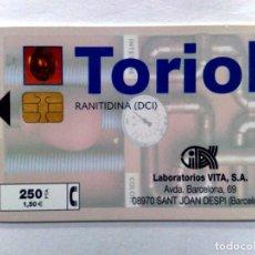 Tarjetas telefónicas de colección: TARJETA TELEFONICA;P-389: TORIOL-II (250 PTA.) 06/99. Lote 243978255