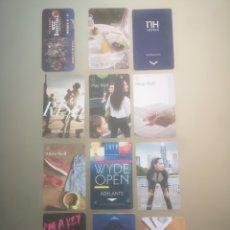 Tarjetas telefónicas de colección: 12 HOTELES. Lote 244522610