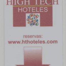 Tarjetas telefónicas de colección: LOTE B-TARJETA DE HOTEL. Lote 245551610