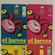 Tarjetas telefónicas de colección: TARJETAS TELEFONICAS. Lote 254222505