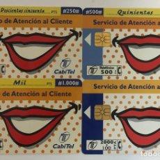 Tarjetas telefónicas de colección: TARJETAS TELEFONICAS. Lote 254228780