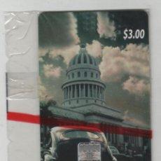 Tarjetas telefónicas de colección: TARJETA DE CUBA-PRUEBAS DE CAMPO EN MONEDA NACIONAL-AÑO 2003-. Lote 255981235