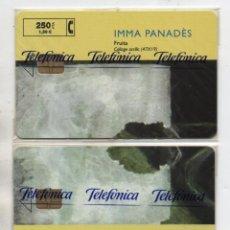 Tarjetas telefónicas de colección: LOTE DE 4 TARJETAS INMA PANADES-CON FUNDA DE NUEVO-VER FOTOS. Lote 255985825