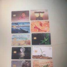 Tarjetas telefónicas de colección: 12 TARJETAS. Lote 269199688